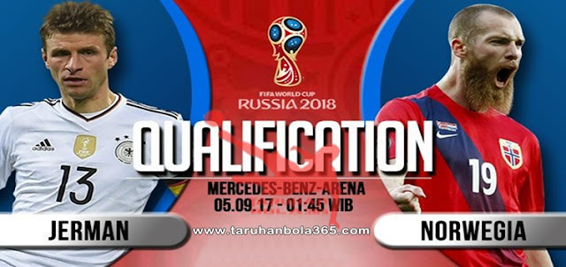 Prediksi Taruhan Bola 365 - Jerman vs Norwegia 5 September 2017