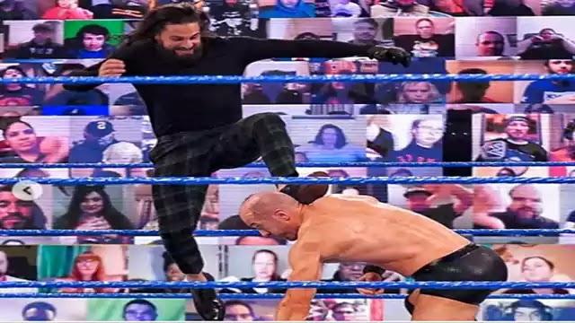 Seth Rollins vs WWE's Swiss Superman Cesaro