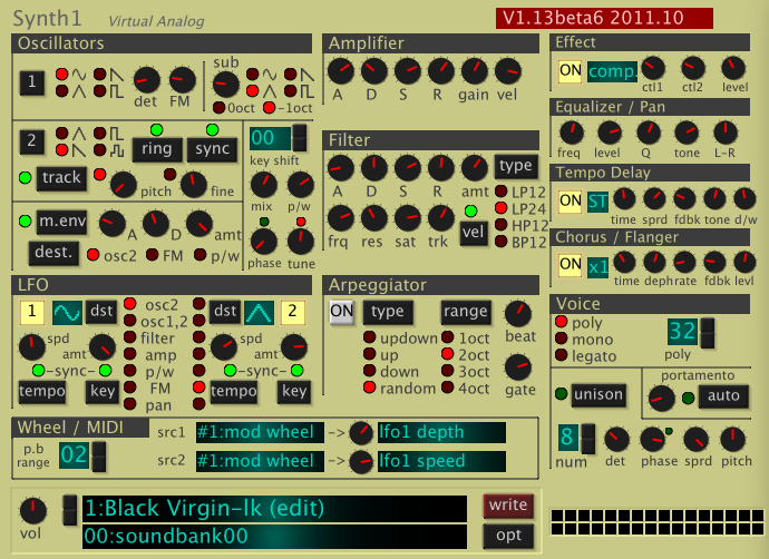Very Random Streams: Over 14 000 free patches for Synth1 - a