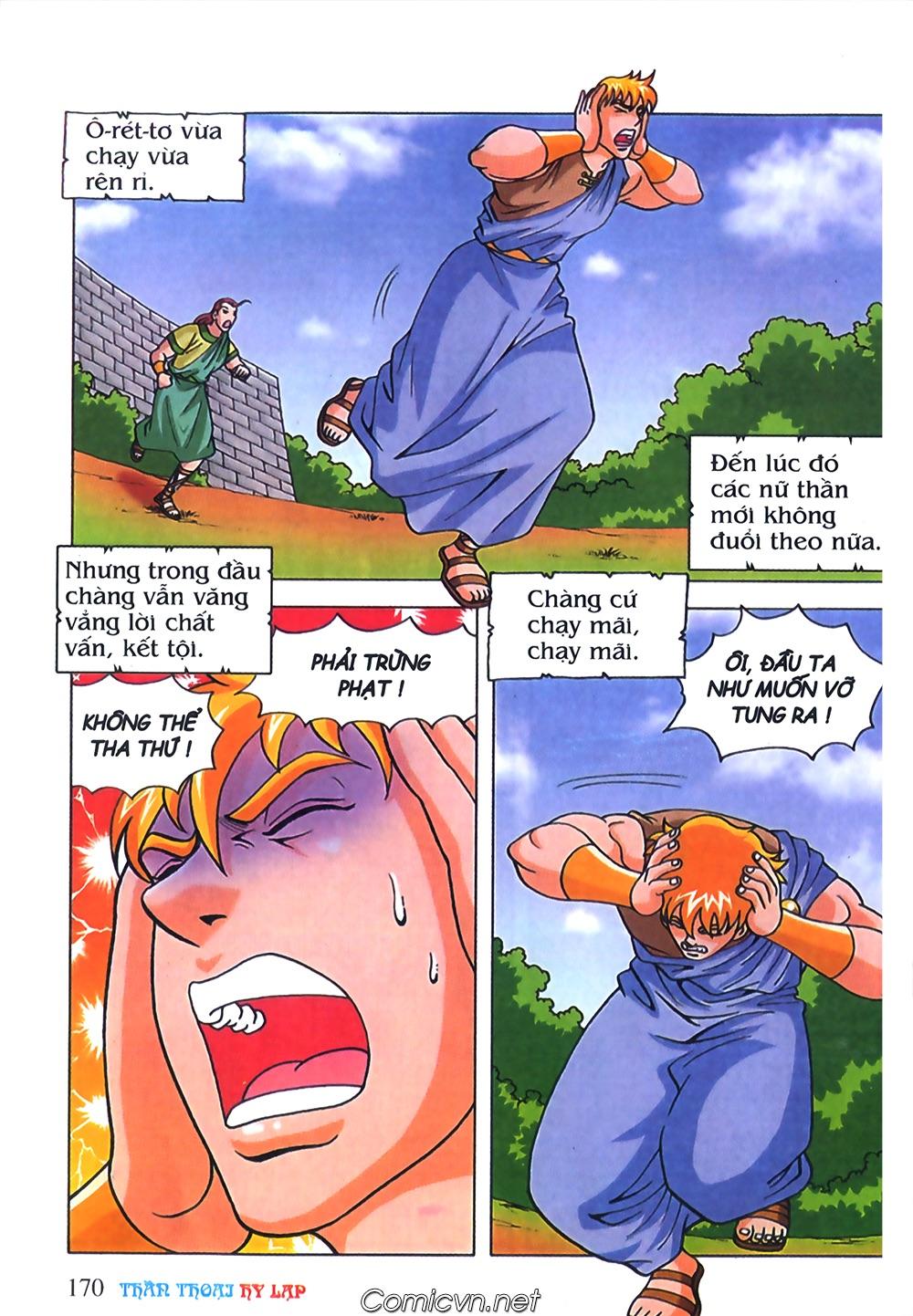 Thần Thoại Hy Lạp Màu - Chapter 71: Nàng Ê lếch tơ 2 - Pic 21