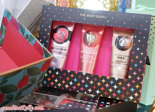 The Body Shop 2018 Ramadan & Raya Gifts, The Body Shop Malaysia, Peace Play Project, 2018 Ramadan & Raya Gift Ideas, Black Musk Night Bloom, Japanese Cherry Blossom Strawberry Kiss, Gift Ideas