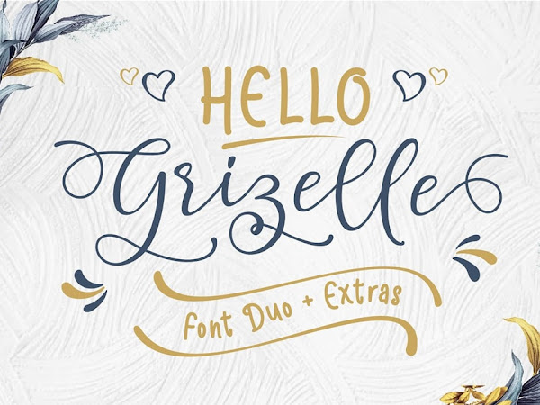 Hello Grizelle Calligraphy Font