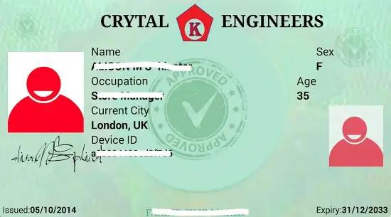 تطبيق صنع هوية فيس بوك للاندرويد - بطاقات مباشرة