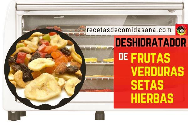 Nuestro Deshidratador de frutas, verduras, setas o hierbas, te contamos nuestra experiencia