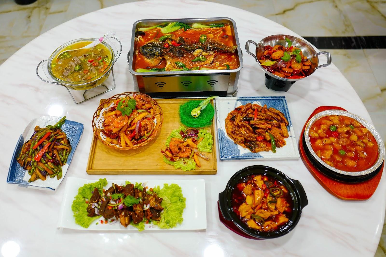 he zhou chinese muslim restaurant, taman danau kota