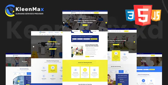 Best Cleaning Services and Company HTML Template