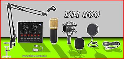 مراجعة شاملة ميكروفون BM 800 ارخص مايك احترافي على الاطلاق