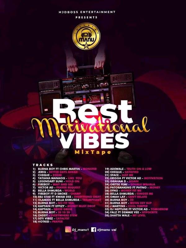 [DJ MIX] DJ Manu - Best Motivational vibe mixtape