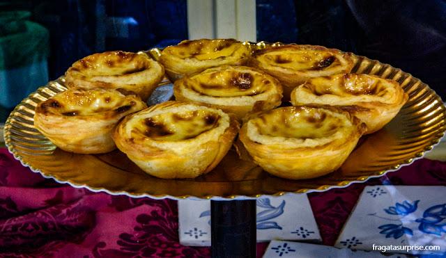 Pastéis de Belém, doce típico de Portugal