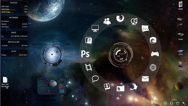 برنامج مجاني لتغيير شكل سطح المكتب في الكمبيوتر