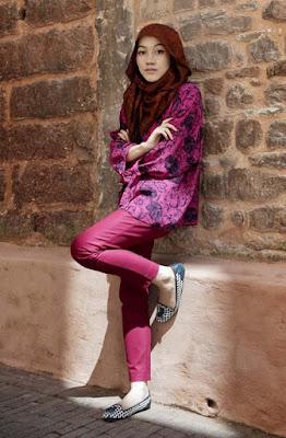 Hijab Igo Fashion cewek cantik model hijab manis hana tajima outfit hana tajima ootd