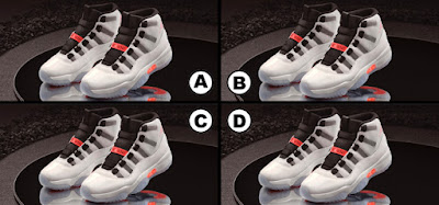Spot the Difference Quiz Jordans Edition Answers