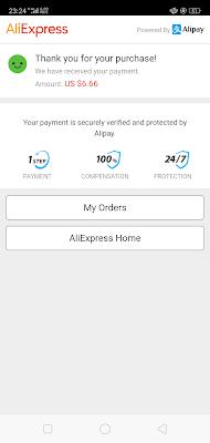 Checkout AliExpress