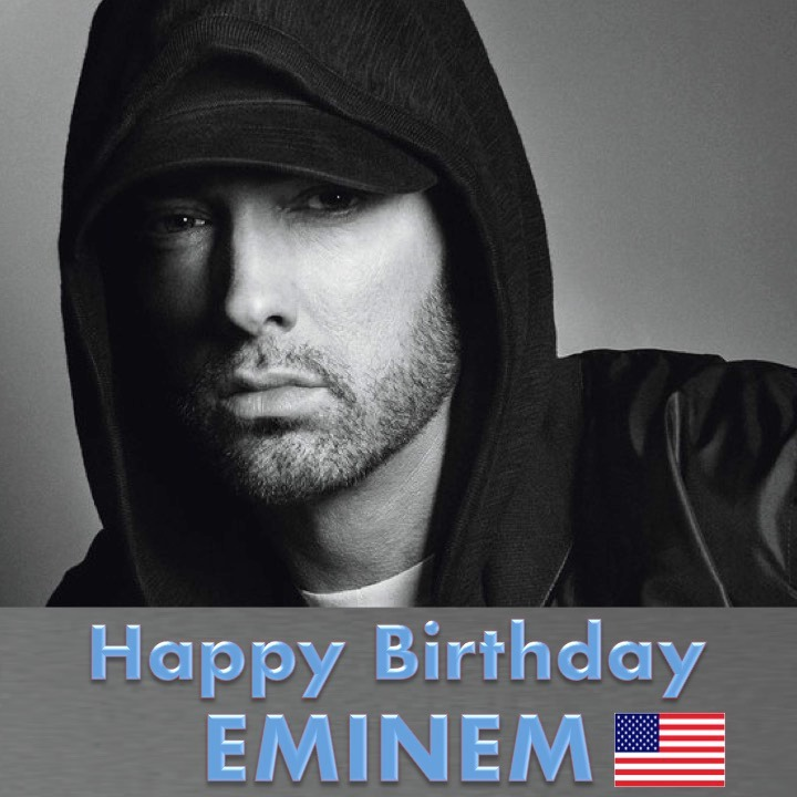 Eminem's Birthday Wishes Pics