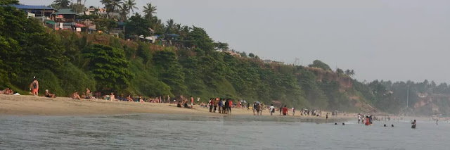 View from Varkala Beach