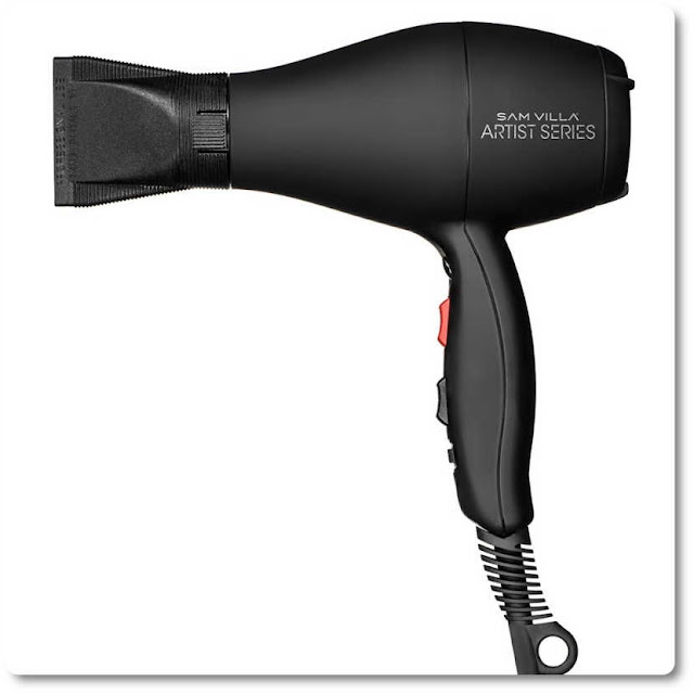 Ceramic hair dryer with negative ion technology
