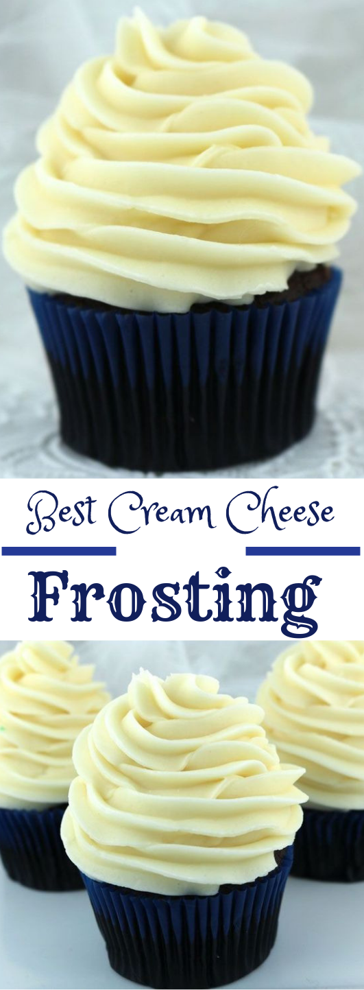 THE BEST CREAM CHEESE FROSTING #dessert #cakes