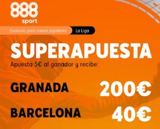 888sport superapuesta Granada vs Barcelona 9 enero 2021