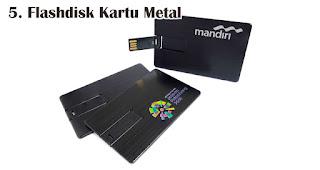 Flashdisk Kartu Metal merupakan salah satu jenis flashdisk kartu untuk dijadikan souvenir