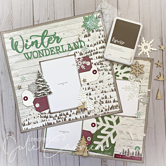 Winter Wonderland Layout, Snowflakes