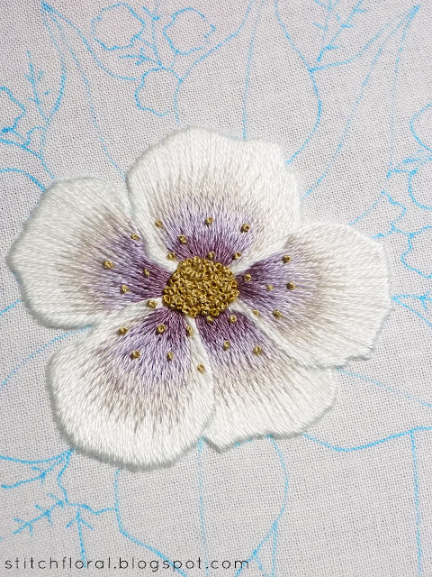 How to start & end embroidery thread