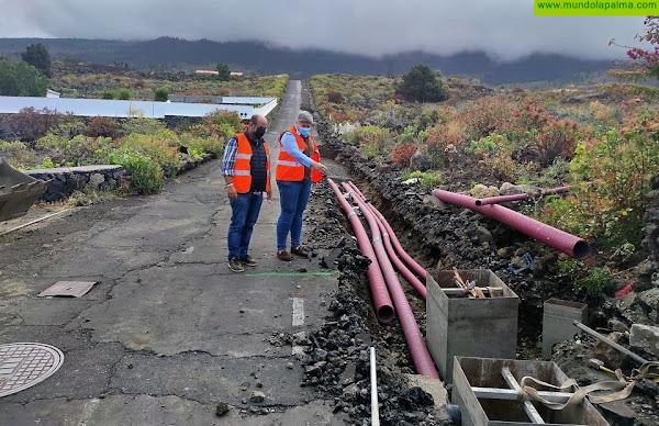El Ayuntamiento de Los Llanos de Aridane comienza las obras de asfaltado del Camino La Jurona