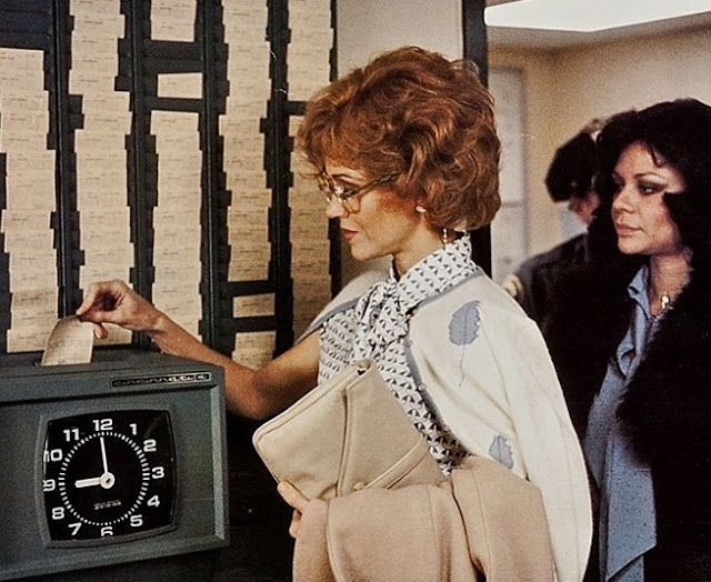 Jane Fonda in 9 to 5 movie