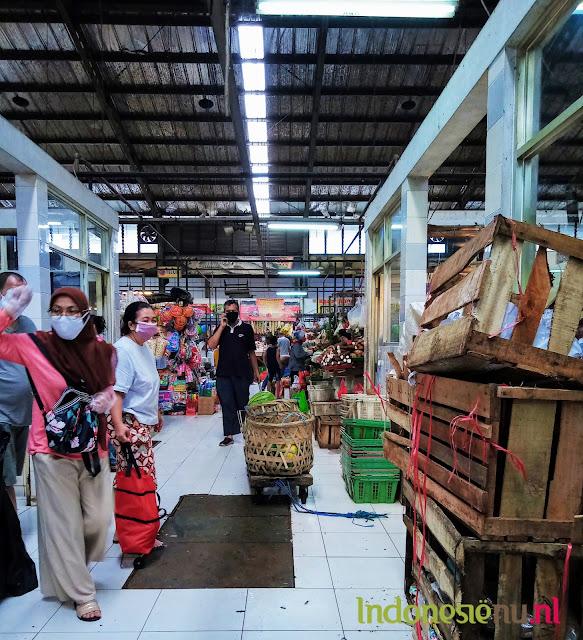 markt bezoekers bogor jakarta