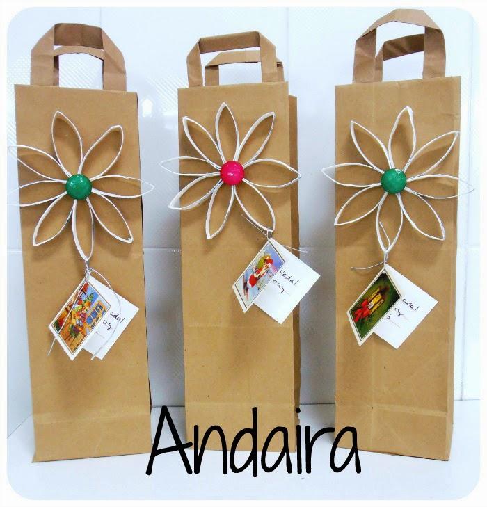 Bolsas hechas de papel
