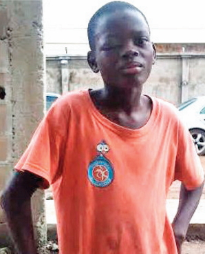 12-year-old togolese houseboy