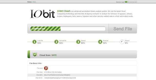 كيف تفحص البرامج والتطبيقات وتتأكد من سلامتها مع الخدمة السحابية IObit