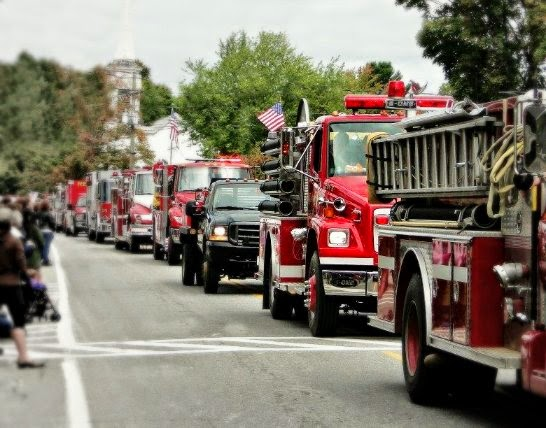 Fire Engines on Parade Antrim NH Home and Harvest Festival New England Fall Events