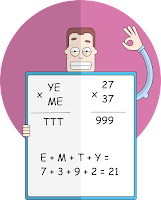 A Verbal Arithmetic Puzzle - Solution