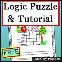 free resource to teach kids how to solve logic puzzles