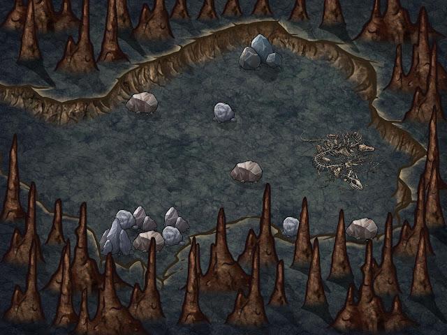 Aventura para Dungeons & Dragons - La Mentira de Malar - Encuentro Aleatorio 1