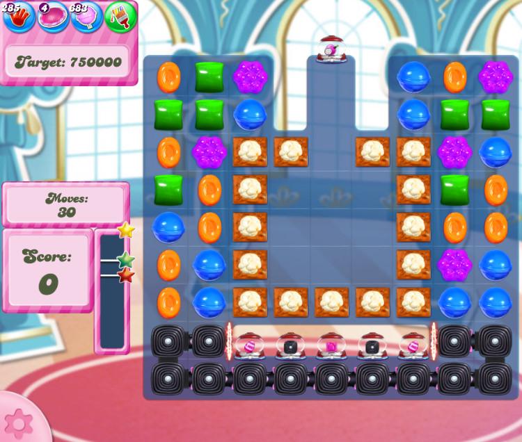 Candy Crush Saga level 2750
