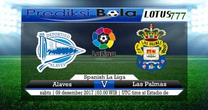 prediksi skor Alaves vs Las Palmas 09 desember 2017