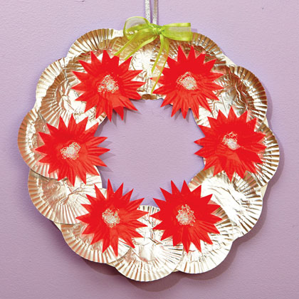 Cheery Cupcake Wrapper Wreath