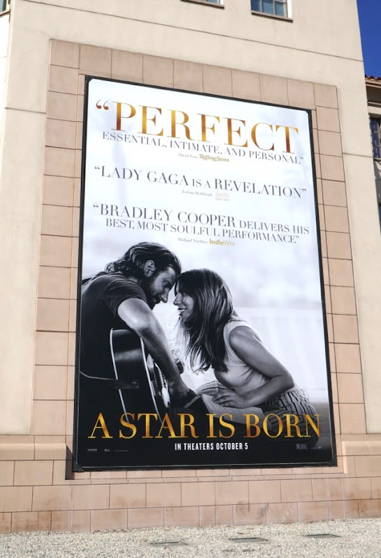 A Star is Born Perfect billboard