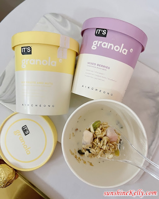 IT'S SIXPACK, IT'S Cup Coffee, IT'S Granola, Aik Cheong Coffee, IT'S White Coffee Salted Gula Melaka, Teh Tarik Gula Melaka,  Food