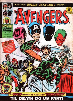 Marvel UK, The Avengers #188, The Circus of Crime