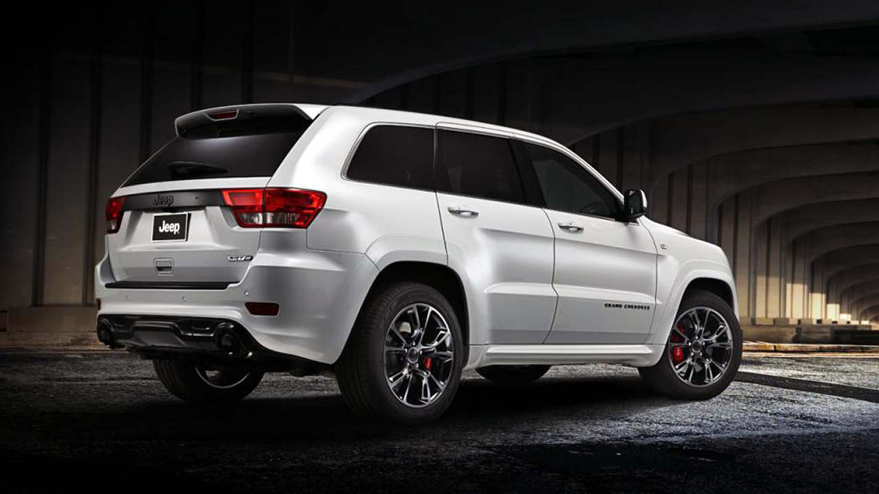 "2012 Jeep Grand Cherokee SRT8 Limited Edition 4x4 on 20"" 6 ..."