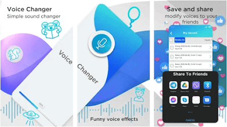 Aplikasi Suara Lucu - Funny Voice Changer