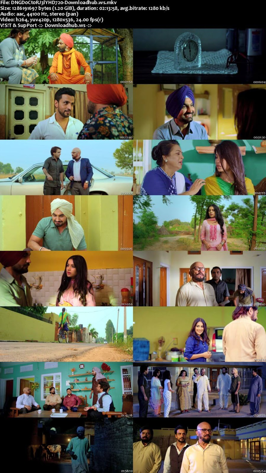Dangar Doctor Jelly 2017 Punjabi 720p HDRip