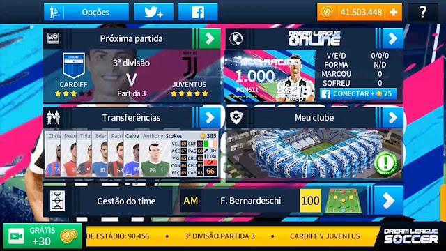 تحميل لعبة دريم ليج 2019 مهكرة من ميديا فاير | Dream League Soccer 2019