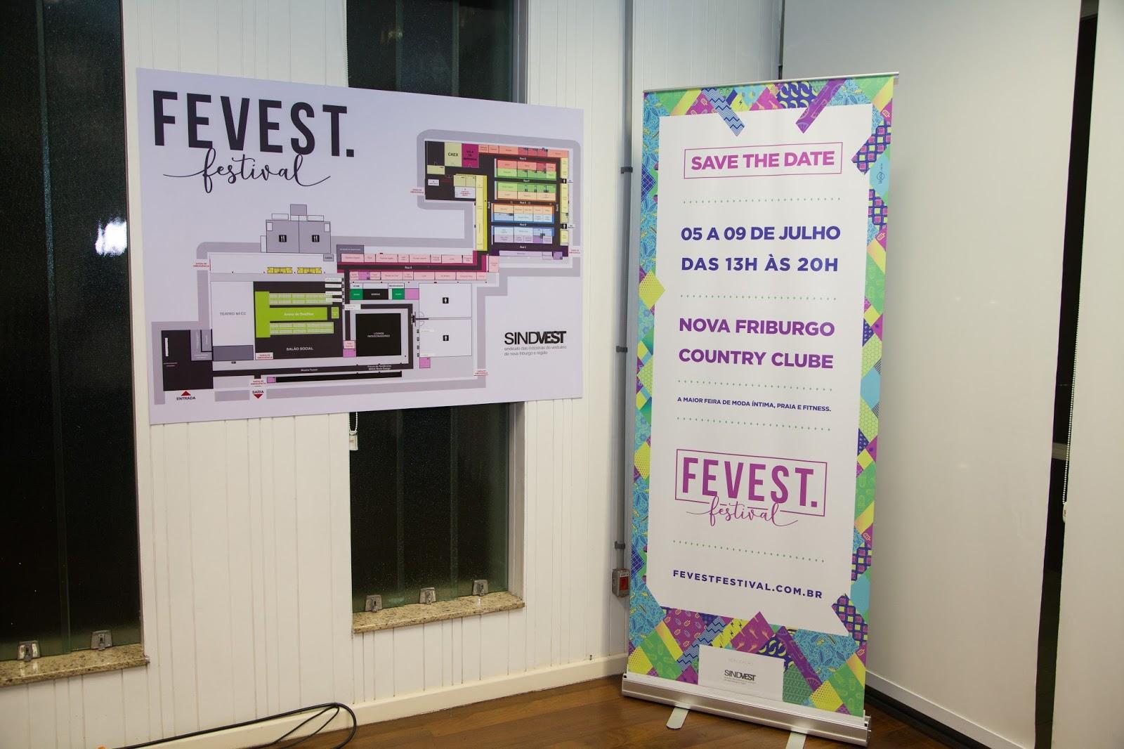 7997cccb8 Lançamento da Fevest Festival aconteceu na segunda-feira