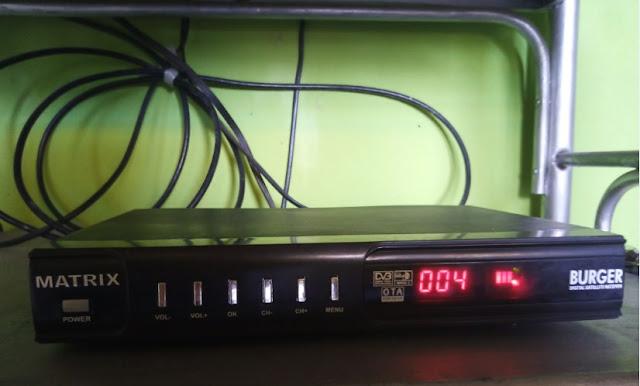 Cara SCAN Siaran Indosiar SCTV Matrix Burger Telkom 4 Dengan Mudah Lengkap Gambar  Update 08 Juli 2020