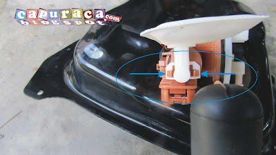 saringan bensin motor injeksi mio