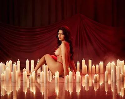 Sherlyn Chopra, Lockdown के बीच 5April2020 को इस तरह मनाया प्रकाश उत्सव, देखे