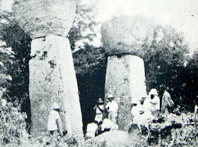 house of taga, tinian island megaliths